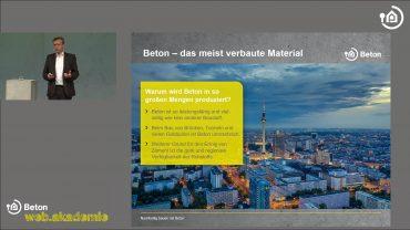 1.2 Nachhaltig Bauen mit Beton